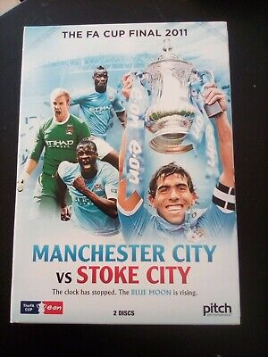 FA Cup Final: 2011 - Manchester City Vs Stoke City DVD (2011) Manchester City • 1.99£