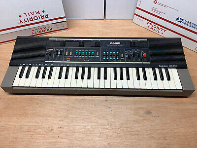 $49.99 • Buy Casio Casiotone MT-210 Code Modultation Electronic 49 Key Keyboard Synth Tested