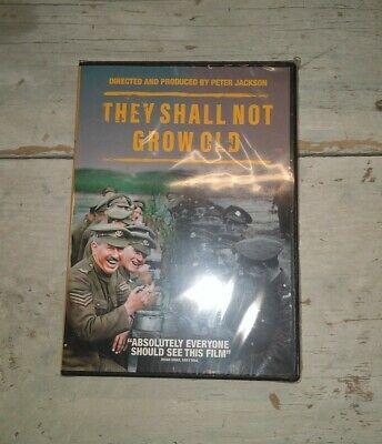 $5.50 • Buy They Shall Not Grow Old (DVD, 2018) Peter Jackson Mark Kermode WW1 War Footage