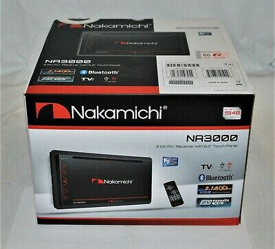 $124.99 • Buy Nakamichi NA3000 In-Dash 6.2  Double Din DVD/CD/MP3/WMA Stereo Receiver NEW
