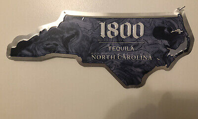 $ CDN39.62 • Buy Jose Cuervo 1800 Metal Sign Jose Cuervo 1800 North Carolina Sign Tequila 20 X 9