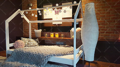 $ CDN482.11 • Buy Children Bed Bunk House Kids Bed Frame Kinderbett TWIN, FULL, QUEEN Dimension