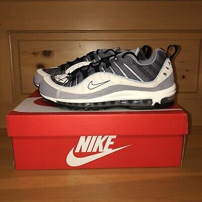 $104.97 • Buy Nike Men's Air Max 98 SE Inside Out AO9380-002 Grey And White Shoes Size 11