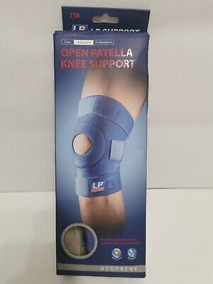 LP 758 OPEN PATELLA KNEE SUPPORT Runners Knee Pain Compression Brace Sleeve Wrap • 14.60£