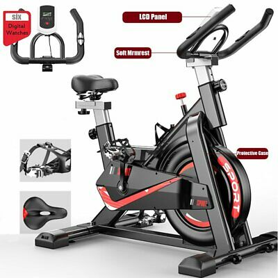 Exercise Spin Bike Home Gym Bicycle Cycling Cardio Fitness Training Workout Bike • 163.99£