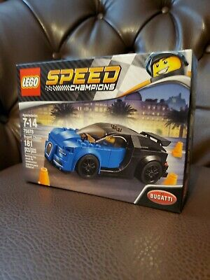 $102.25 • Buy Lego Speed Champions 75878 Bugatti Chiron With 1 Minifig