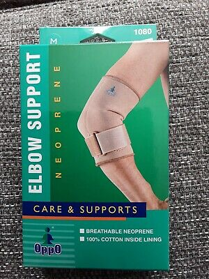 OPPO 1080 TENNIS ELBOW Brace With Strap Tennis Golfers Elbow Pain Support Wrap M • 6.29£
