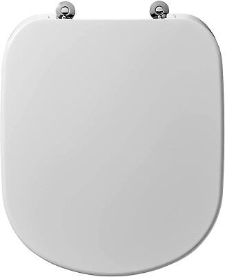 £44.99 • Buy Ideal Standard T679201 Tempo/kheops Toilet Seat And Cover White *SHORT VERSION*