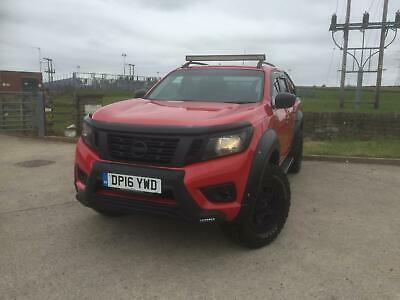 NISSAN NP300 NAVARA 2.3dCi DOUBLE CAB 4WD Pickup AUTO N-CONNECTA RED 2016 • 17,995£