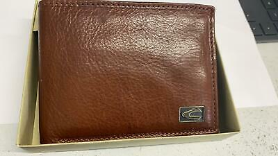 Camel Active Mens Wallet- In Tan Cow Hide Leather- Boxed-5625             • 19.99£