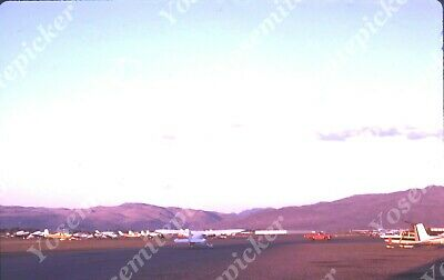 $7.99 • Buy Sl00 Original Slide 1971 Reno Airport Airplane Landing 185a