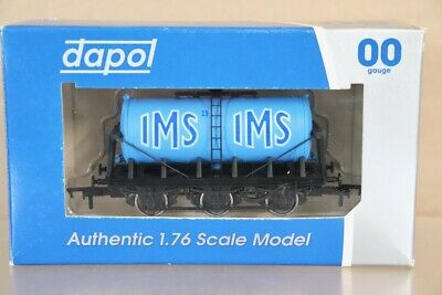 DAPOL B892 IMS 6 WHEEL MILK TANK WAGON MINT BOXED Pa • 18.50£