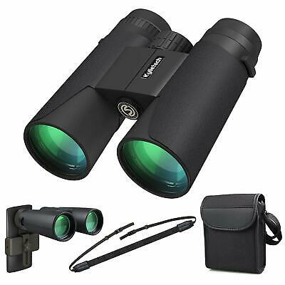 High Power Binoculars, Kylietech 12x42 Binocular For Adults With BAK4 Prism, FMC • 36.89£