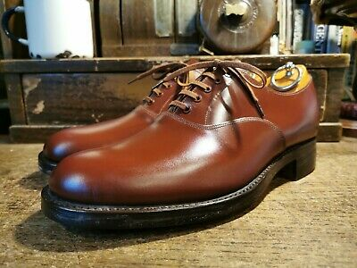 Deadstock Vtg Marvelfairs By Sanders Leather Oxford Shoes UK6 RRP£295 Brogues  • 85£