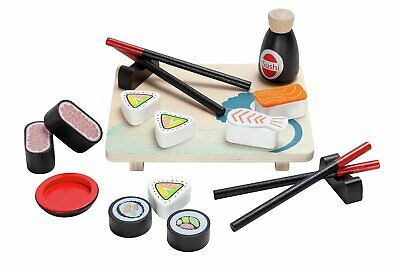 £10 • Buy Chad Valley Wooden Toy Sushi Set
