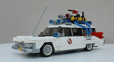 LEGO GHOSTBUSTERS ECTO-1 ECTOMOBILE CAR.21108.COMPLETE With BOX, INSTRUCTIONS. • 49.99£