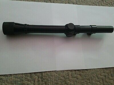 $38 • Buy Weaver D6 Vintage Rifle Scope -- Excellent Condition With Rings
