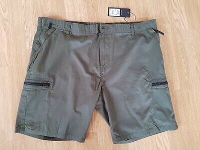 New With Tags NEXT Combat CARGO Summer Shorts 42 ARMY OLIVE GREEN Holiday Safari • 17.99£