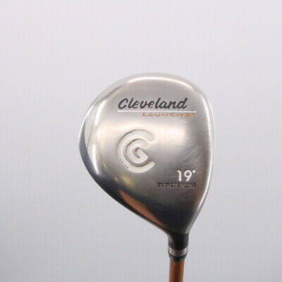 $ CDN113.86 • Buy Cleveland Launcher 5 Fairway Wood 19 Degrees Graphite Gold Stiff Flex 69473G