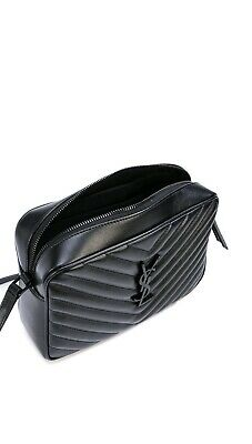 AU1390 • Buy YSL Lou Camera Bag - Quilted Leather Black