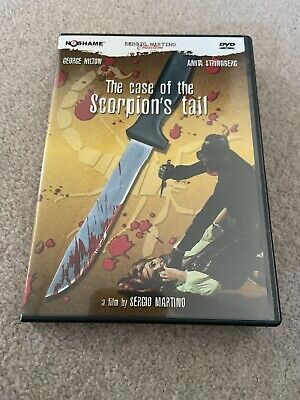 Case Of The Scorpions Tail  R1 DVD Giallo Signed By Sergio Martino • 25£