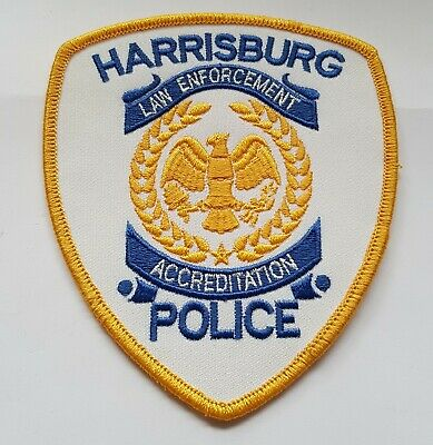 Obsolete Original Police Patch Badge USA Harrisburg Pennsylvania  • 5.99£
