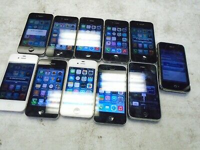 $ CDN96.09 • Buy Wholesale Lot Of 11 Apple IPhone 3GS/4/4S AT&T Cell Phones 8GB/16GB/32GB