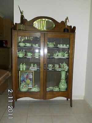 AU250 • Buy Antique Edwardian China Cabinet