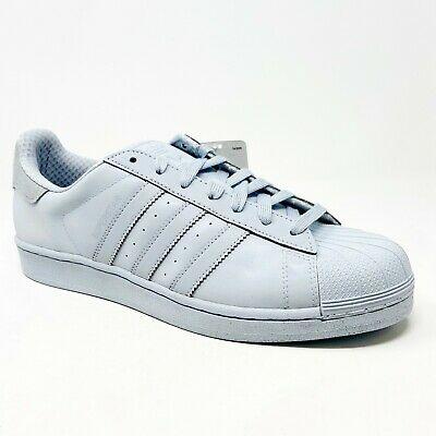 $ CDN99.92 • Buy Adidas Originals Superstar Adicolor Reflective Halo Blue S80329 Mens Sneakers