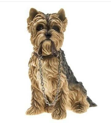 Yorkshire Terrier Dog Figurine Ornament Gift Boxed • 12£