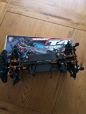 Xray T4 2018 Touring Car Chassis Kit With Massive Amount Of Spares • 360£