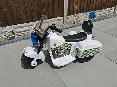 Kids Ride On Electric Police Motor Bike • 14.99£