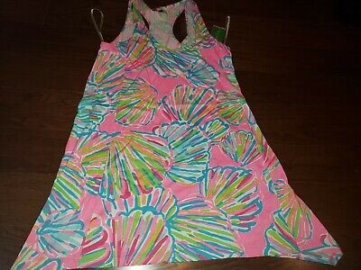 "$49 • Buy New Lilly Pulitzer Women's Monterey Tank Dress ""Shellabrate,""  Medium"