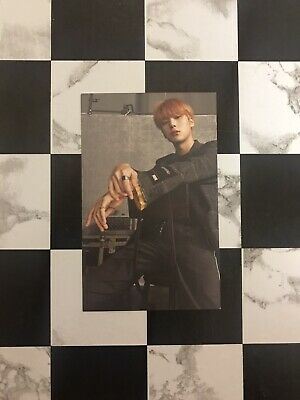 $5 • Buy MONSTA X All About Luv OFFICIAL Photocard MINHYUK