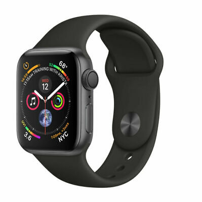 $ CDN293.68 • Buy Apple Watch Series 4 44 Mm Space Gray Aluminum Case With Black Sport Band (GPS)