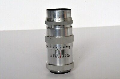 JUPITER 11  135mm F4 Telephoto Lens M39 Screw Mount For Zorki Fed Leica Etc • 28£