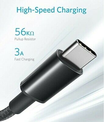 AU10.96 • Buy Anker AKB8173011 Nylon USB-C To USB-A Cable 6 FT