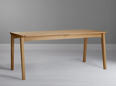 John Lewis DUHRER 6-10 Seater Extending Dining Table In Oak • 395£