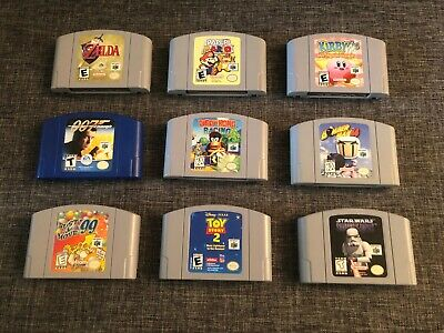 $ CDN19.95 • Buy Authentic Nintendo 64 (N64) Games ** You Pick ** Combine Shipping For $1