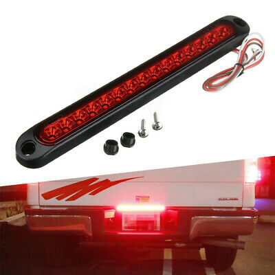 $12.99 • Buy AUXITO Super Red LED Stop Tail 3rd High Brake Light Car Truck Trailer Waterproof
