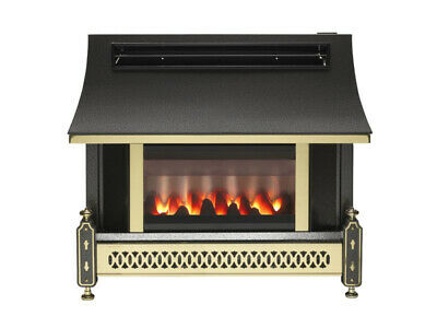 88% Efficient Robinson Willey Sahara Lfe Coal Effect Gas Fire *collection Only* • 399.95£