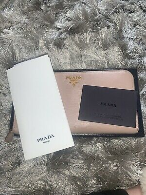 Prada Saffiana Leather Zip Around Purse  • 72£
