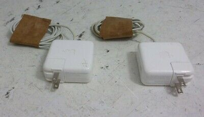 $ CDN44.24 • Buy Lot Of 2*Apple MagSafe 2 A1436 45W 14.85V OEM Laptop AC Power Adapter