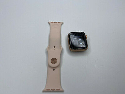 $ CDN202.93 • Buy Apple Watch Series 4 40 Mm Gold Aluminum Case- Cracked Screen / Fully Functional