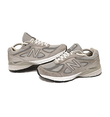$71.95 • Buy New Balance 990v4 Womens Size 9 Suede Leather Running Shoes Gray White USA Made