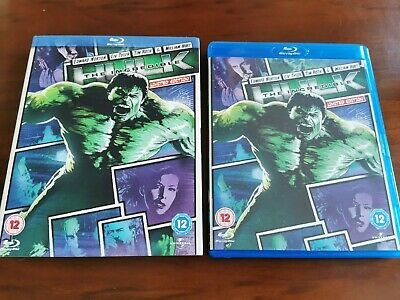 The Incredible Hulk (Marvel Blu-ray, 2012) - Limited Edition With Slipcase • 2.20£
