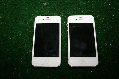 $ CDN13.52 • Buy Lot 2 Apple I-phones White 4 4S A1349 A1387 Smartphones