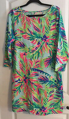 $49 • Buy Lilly Pulitzer Marlowe Island Time Dress Size Large