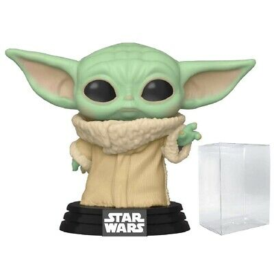 $12.99 • Buy Funko Pop Baby Yoda The Child The Mandalorian In Hand + Protector Mint!