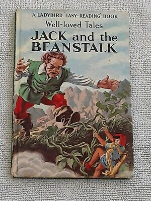 VINTAGE LADYBIRD BOOK WLT  JACK AND THE BEANSTALK  606D  1st EDITION • 22£